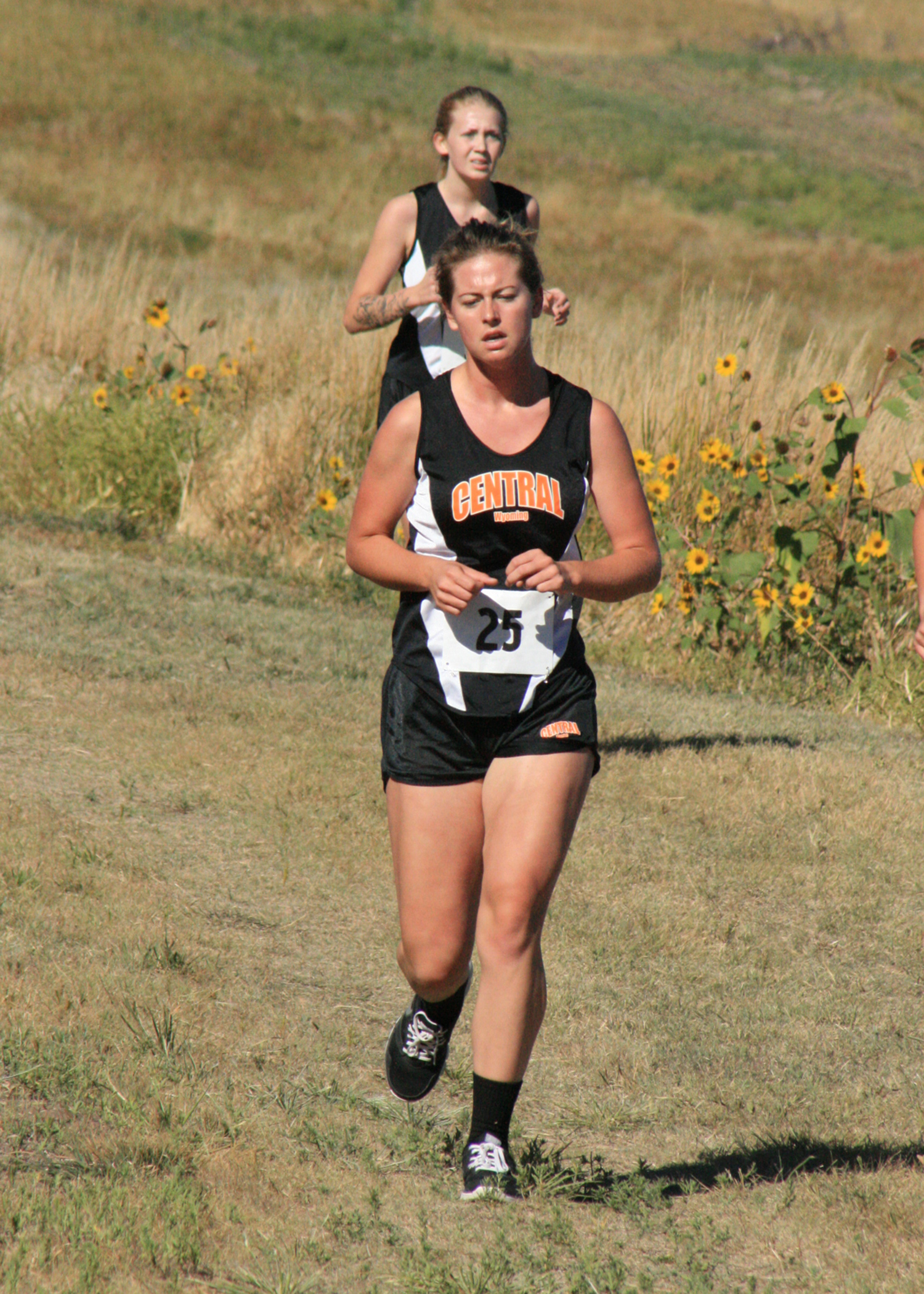 CWC cross country runner Rebeka runs at meet