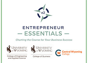 graphic of Entrepreneur Essentials logo with UW and CWC logos