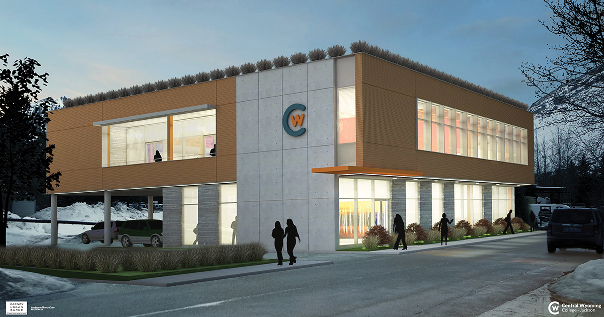 Architectural rendering of proposed CWC Jackson facility